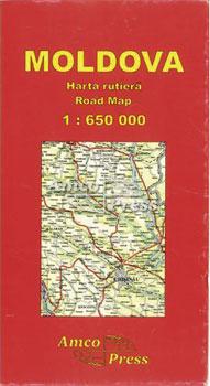 Harta Moldova AmcoPress 0