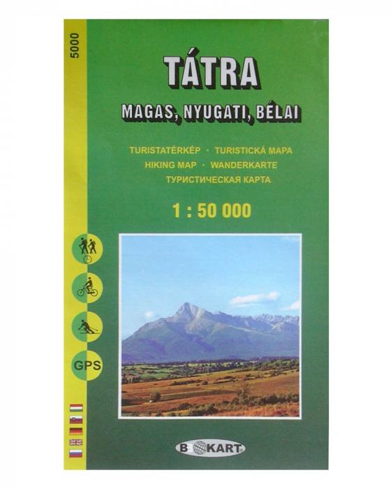 Harta Muntii Tatra Inalta (Vestica) BBoKart [0]
