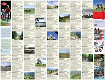 Harta Schubert &Franzke cicloturism 100 de excursii in jurul Clujului [0]