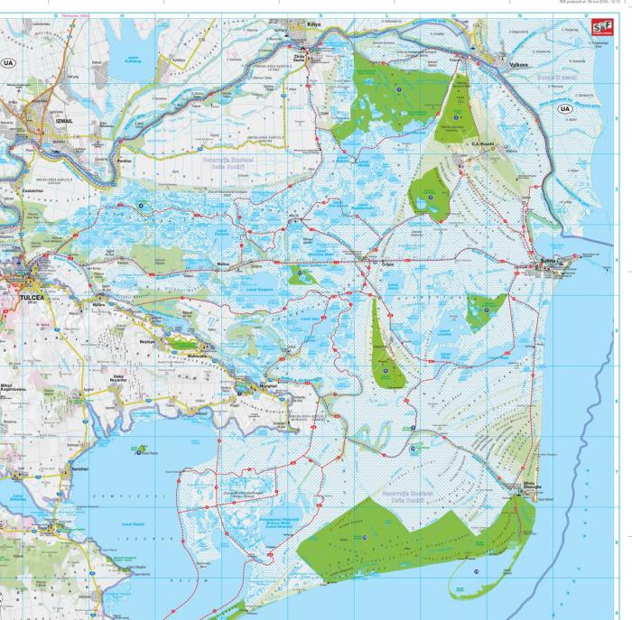 Harta Schubert &Franzke Delta Dunarii [4]