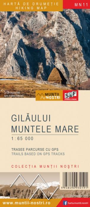 Harta Schubert &Franzke Gilaului Muntele Mare [0]