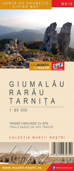 Harta Schubert &Franzke Giumalau, Rarau, Tarnita [0]