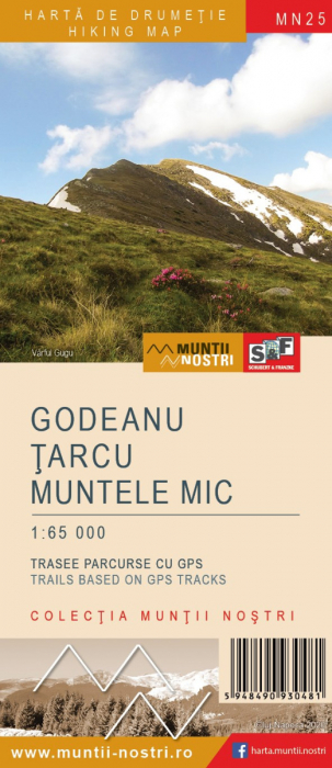 Harta Schubert&Franzke Godeanu, Tarcu, Muntele mic [0]
