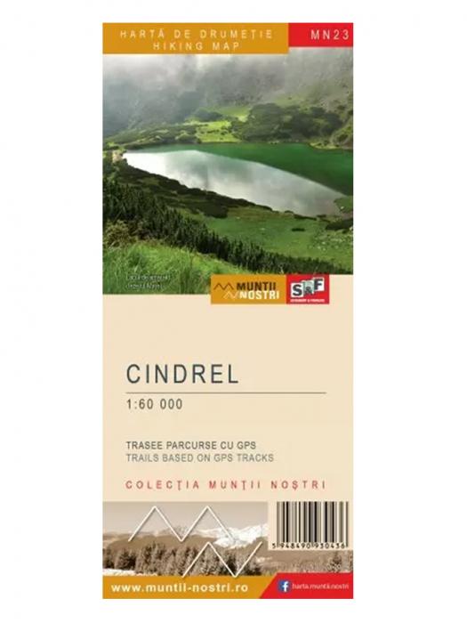 Harta Schubert &Franzke Muntii Cindrel [0]
