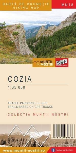 Harta Schubert &Franzke Muntii Cozia [0]