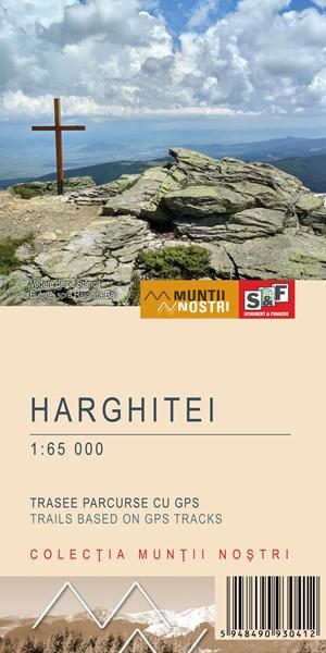 Harta Schubert &Franzke Muntii Harghitei [0]