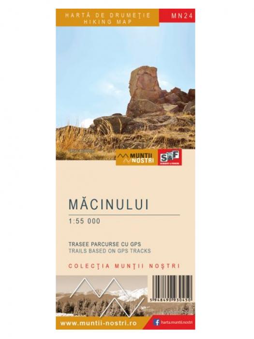 Harta Schubert &Franzke Muntii Macinului [0]