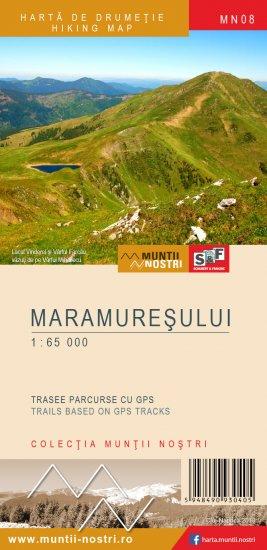 Harta Schubert &Franzke Muntii Maramuresului [0]