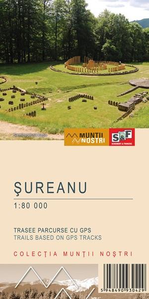 Harta Schubert &Franzke Muntii Sureanu [0]