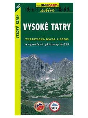 Harta Shocart Muntii Tatra Inalta (Vysoke) [0]