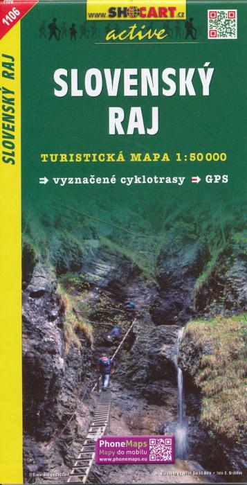 Harta Shocart Paradisul Slovac (Slovensky Raj) [0]