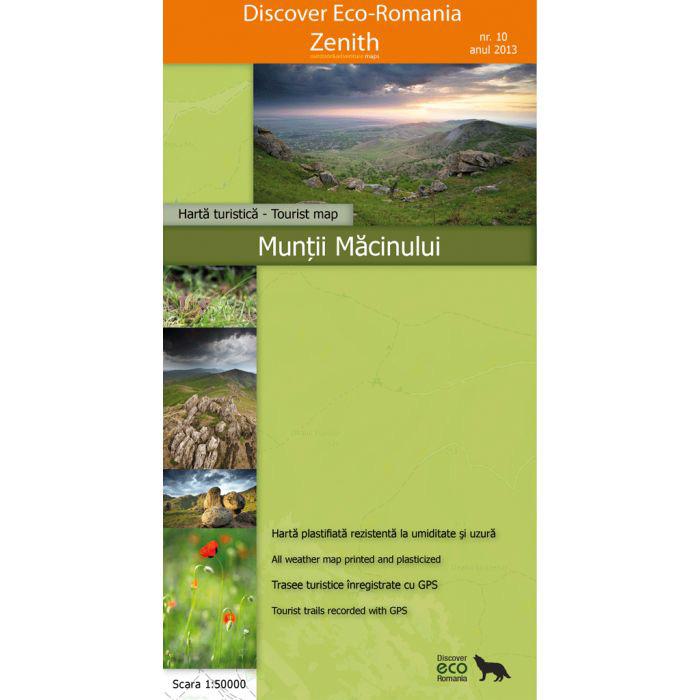 Harta Zenith Muntii Macinului [0]