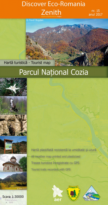Harta Zenith Parcul National Cozia [0]