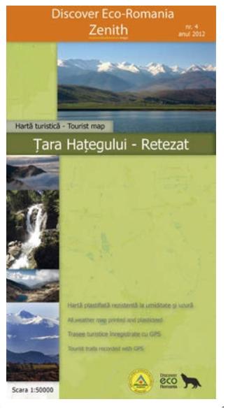 Harta Zenith Tara Hategului-Retezat [0]