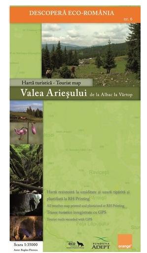Harta Zenith Valea Ariesului-Padis [0]
