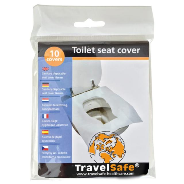 Set hartie pentru acoperirea colacului de toaleta Travelsafe TS0061, 10 bucati [1]