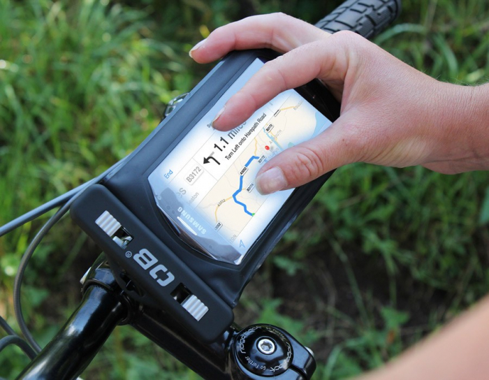 Husa telefon cu suport pentru bicicleta Overboard [3]