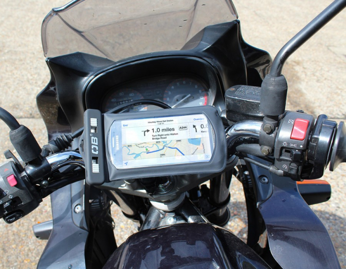 Husa telefon cu suport pentru bicicleta Overboard [6]