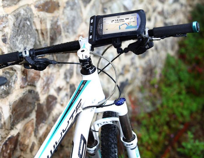 Husa telefon cu suport pentru bicicleta Overboard [4]