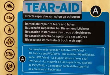Kit de reparatii Tear Aid A [2]