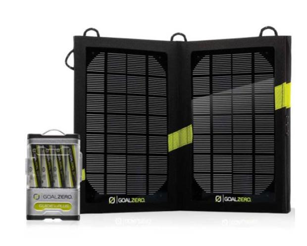 Kit Incarcator solar Goal Zero Guide 10 Plus Kit [0]