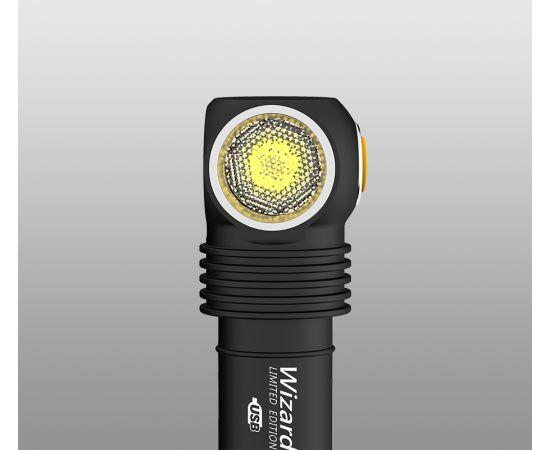 Lanterna/Frontala Armytek Wizard Pro Magnet USB Nichia Warm 3023 [5]