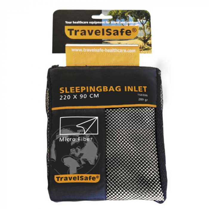 Lenjerie sac de dormit Travelsafe microfibra blanket TS0306, 220x90cm, microfibra, alb [0]