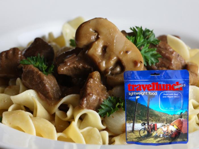 Mancare deshidratata Travellunch Beef, Noodle and Mushroom 250g 50235 E [0]