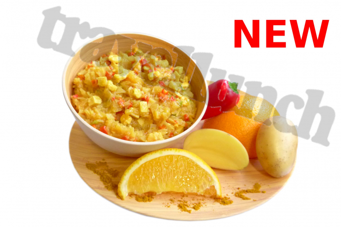 Mancare deshidratata Travellunch Caribbean potato curry with chicken and shrimps 50222 250g, portie dubla [1]