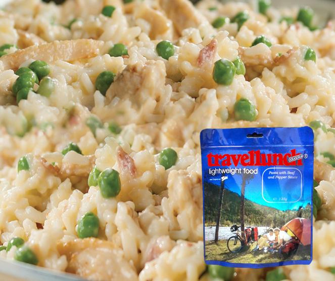 Mancare deshidratata Travellunch Chicken Risotto Gluten free 125g 51137 G E [0]
