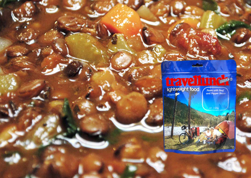 Mancare deshidratata  Travellunch Lentils with Ham 125g 50141 E [0]