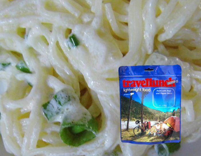 Mancare deshidratata Travellunch Pasta in Creamy Souce with Herbs 125g 50151 E vegetarian [0]