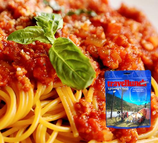 Mancare deshidratata Travellunch Spaghetti Bolognese 125g 50138 E [0]