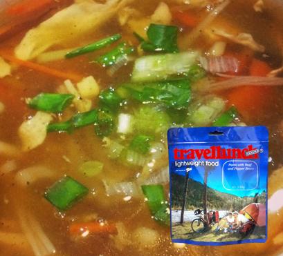 Mancare liofilizata Travellunch Spicy Indonesian Chicken Soup 50269 [0]
