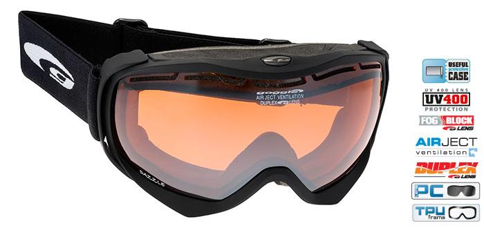 Ochelari schi Goggle H620-1 [0]
