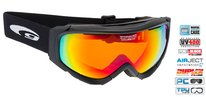 Ochelari schi Goggle H645-2 [0]
