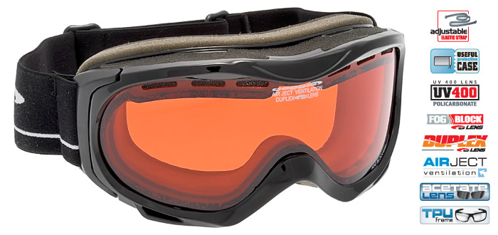 Ochelari schi Goggle H716-1 [0]