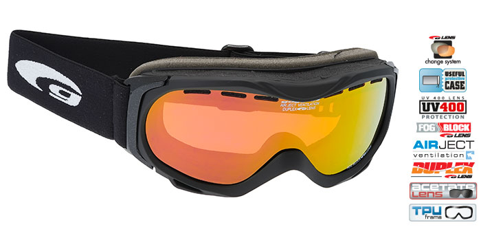 Ochelari schi Goggle H716-2 [0]