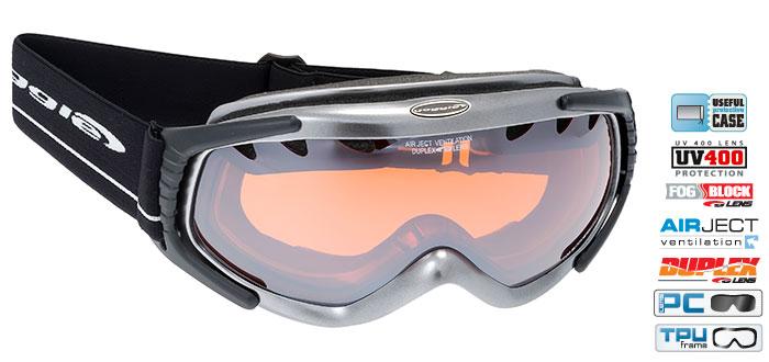 Ochelari schi Goggle H831-2 [0]