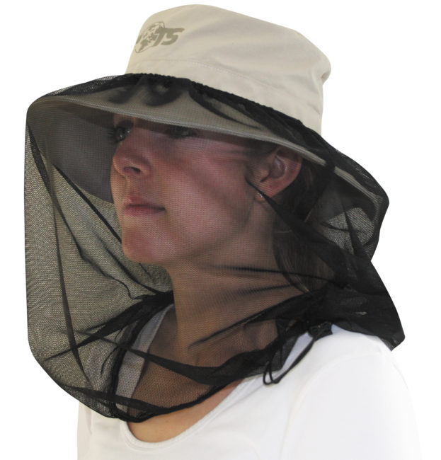Palarie soare Travelsafe Mosquito TS0417, bej, cu plasa anti-insecte [4]