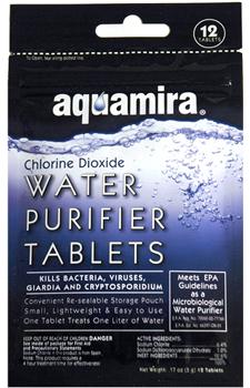 Pastile purificare apa Aquamira [0]