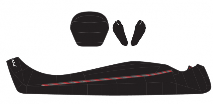 Sac de dormit cu puf Montane Deep Heat (Extrem-42°C) [2]