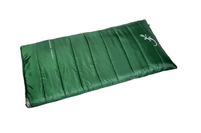Sac de dormit Freetime Condor 450 XXL (2/-3/-20°C), verde, 200x100cm, 2.8kg, impachetat 49x29cm [0]