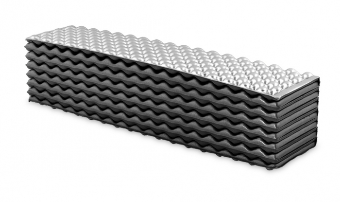 Saltea pliabila Pinguin Fold Alu, 185x55x1.5cm, impachetat 55x13x13cm, 470g [0]