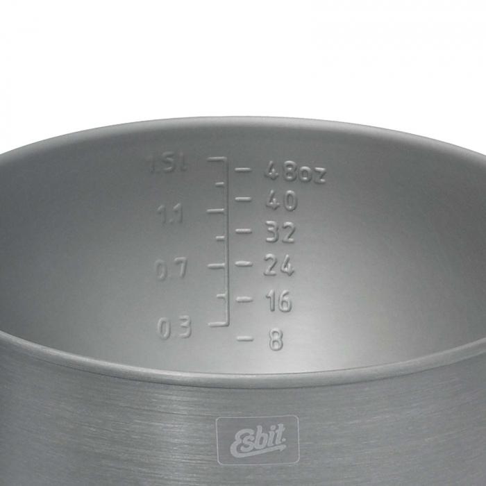Set de vase cu arzator spirt lichid Esbit CS2350WN, 11 piese [3]