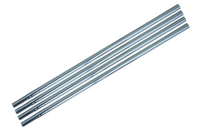 Set segment bat cort aluminiu Eurotrail 9.5mm ETSP0606, 9 bucati [0]