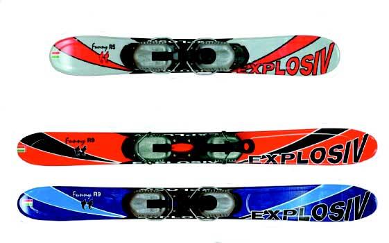Snowblade Explosiv 75 0