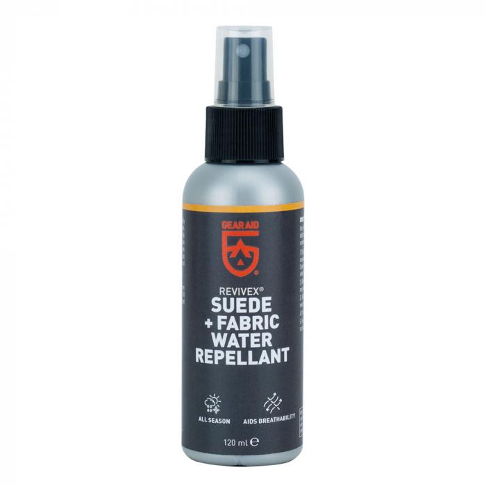 Solutie impermeabilizare McNett-Gear Aid Revivex Suede+Fabric 120 ml 36270 [0]