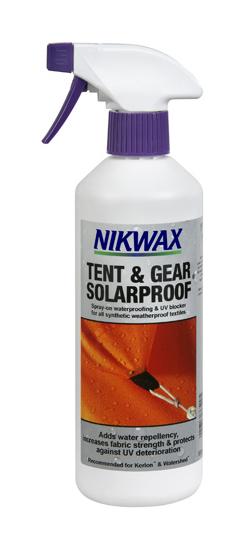 Solutie protectie soare si impermeabilizare Nikwax Tent&Gear 500ml [0]