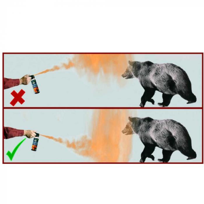 Spray autoaparare impotriva ursilor Foroutdoor Bearbuster [1]
